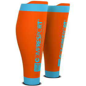 Compressport R2V2 Scalda polpacci, orange